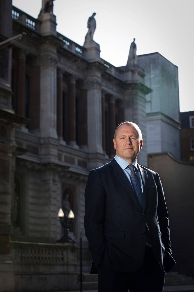 London, England 20200326.  Nicolai Tangen er ny sjef i Oljefondet, Statens pensjonsfond. Foto: Nina E. Rangøy / NTB scanpix