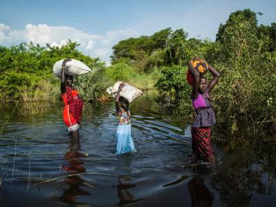 Flere kriser truer flomrammede Sør-Sudan: – Spådommene for slutten av året er ikke veldig gode