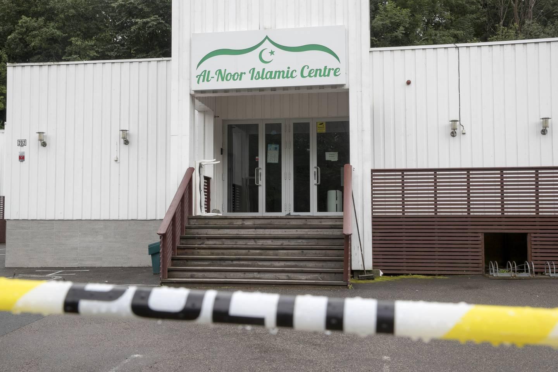 Philip Manshaus drepte sin 17 år gamle stesøster før han angrep Al-Noor islamic Centre i Bærum. Foto: Terje Pedersen / NTB