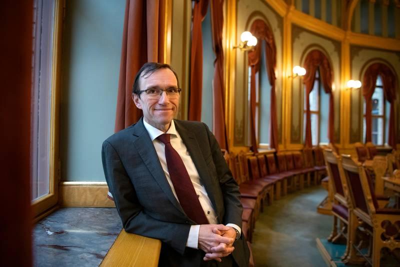 Espen Barth Eide. Statsviter og politiker. Han er Stortingsrepresentant for Oslo Arbeiderparti. Stortinget.