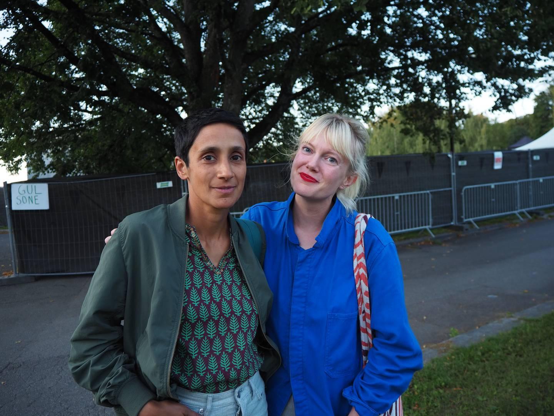 Rachael Fernandes og Ingrid Moe.