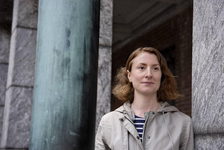Sunniva Holmås Eidsvoll, leder i Oslo SV.