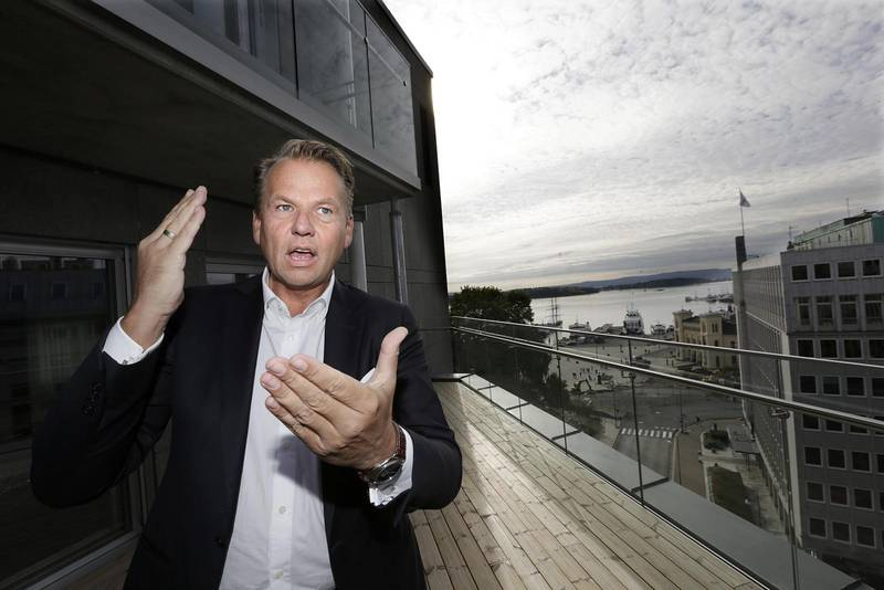 Oslo  20140930.  Portrett av  Ole Ertvaag, leder for pe-fondet HitecVision. Foto: Vidar Ruud / NTB