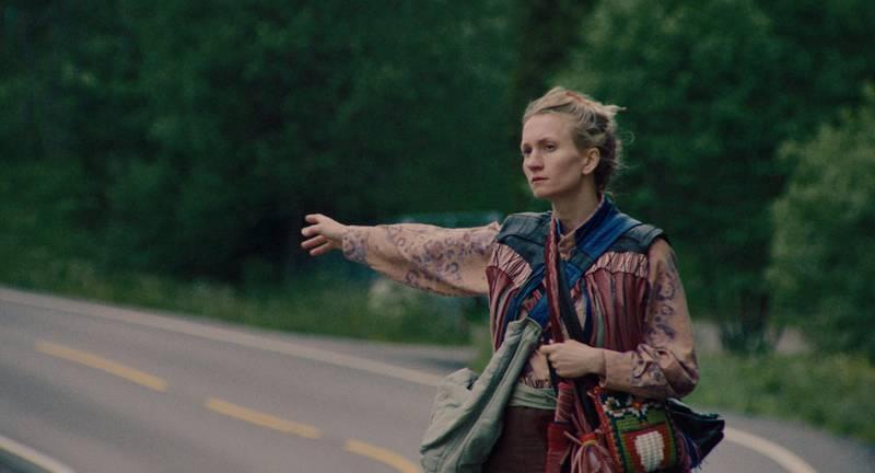 Birgitte Larsen forlater sivilisasjonen i «Gritt»