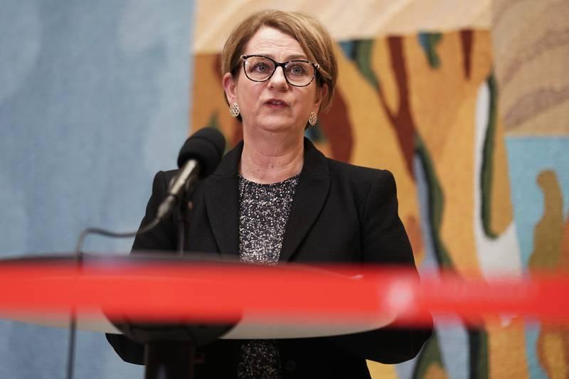 Stortingspresident Tone Wilhelmsen Trøen (H) er ikke imponert over SVs abortvedtak. Foto: Stian Lysberg Solum / NTB