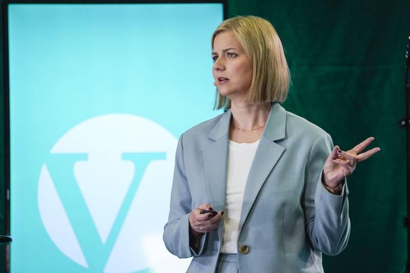 Venstre-leiar Guri Melby lovar å kjempe vidare for rusreforma.  Foto: Lise Åserud / NTB / NPK