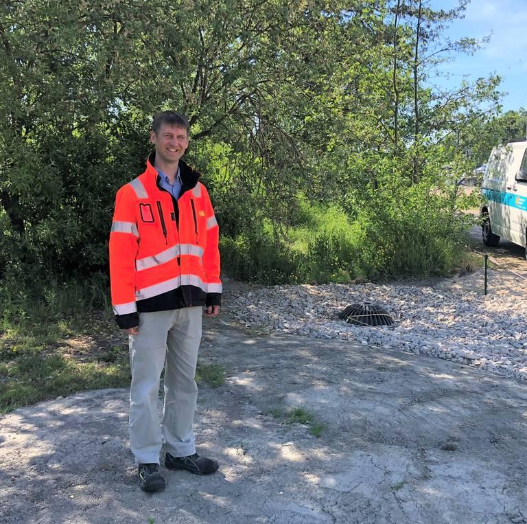 Arnt Johannes Hermansen, landskapsarkitekt og prosjektleder i Fredrikstad kommune.