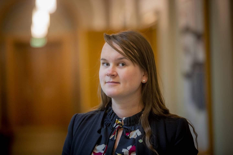 Marit Knutsdatter Strand, stortingsrepresentant for Oppland Senterparti (Sp).