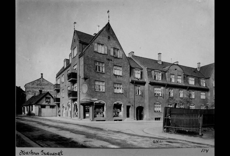 UTEN BOM: Bygården er over 100 år gammel. Her fotografert på 1920-tallet. FOTO: OSLO BYARKIV