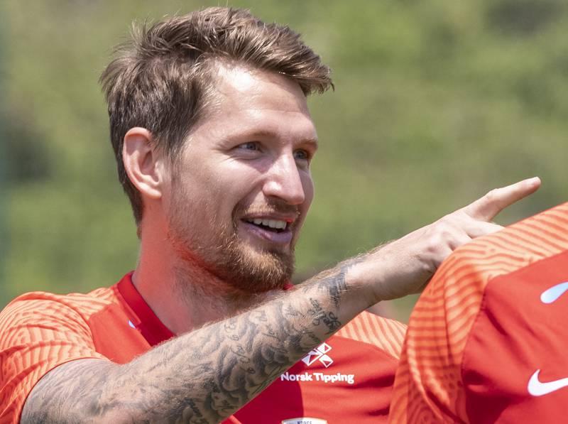 Stefan Strandberg skal spille for Salernitana i Serie A. Foto: Geir Olsen / NTB