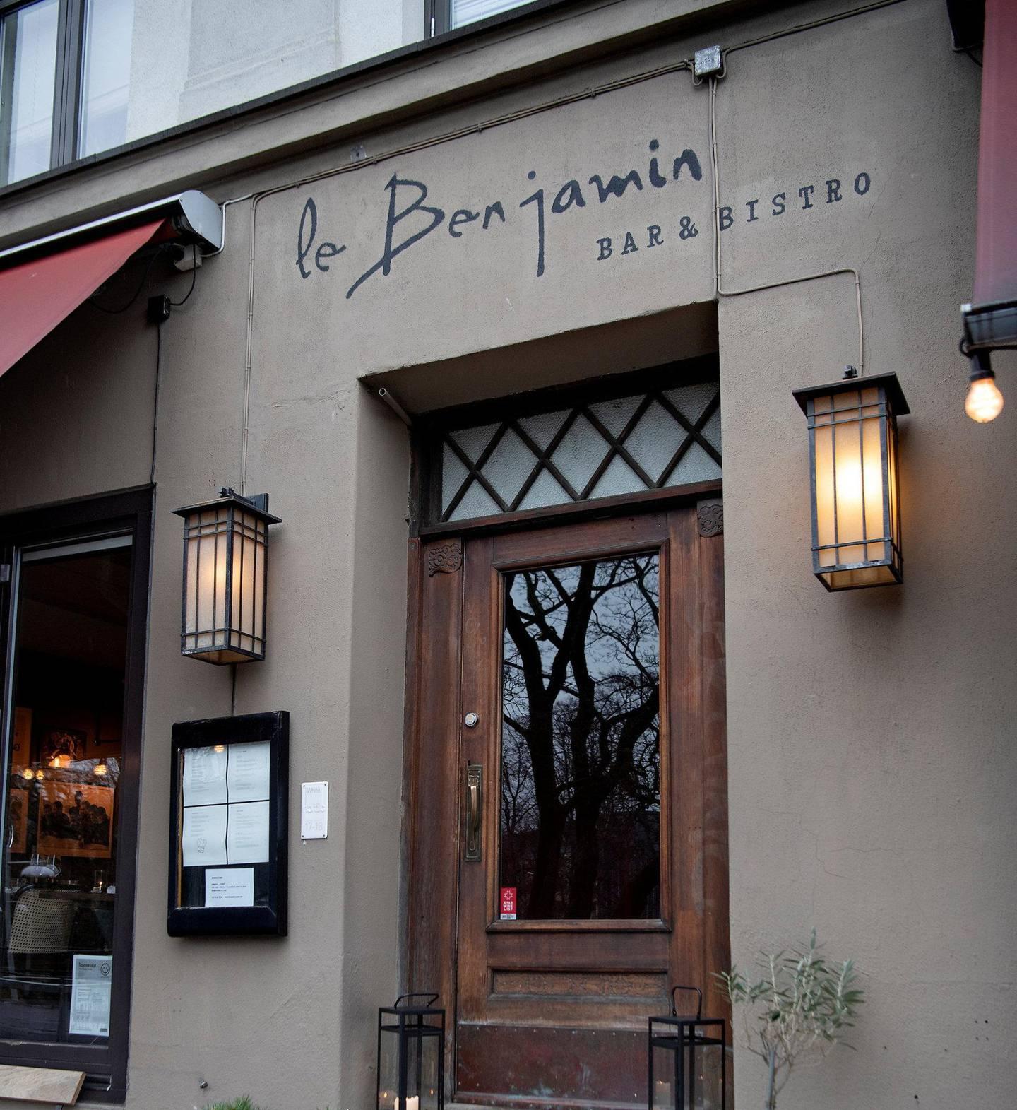 Le Benjamin Bar & Bistro. Restaurant. Byløvene.