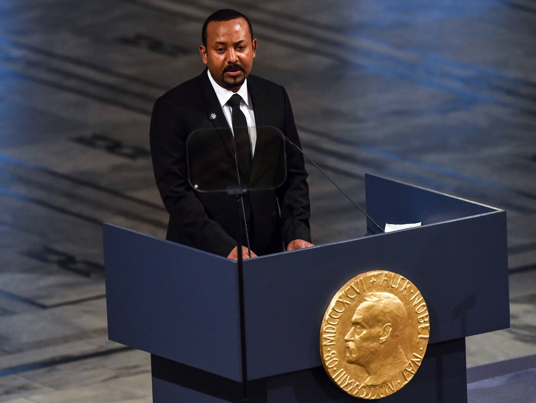 Etiopias statsminister ble tildelt Nobels fredspris i 2019.