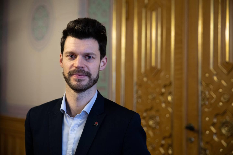 Rødt-leder Bjørnar Moxnes