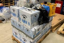 Smuglet over 300 liter sprit i tilhenger