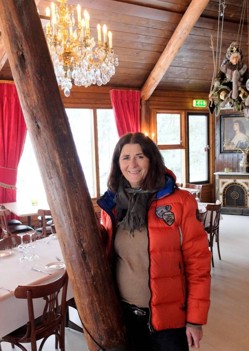 Anka og Marius Tanberg eier restauranten og bygningen på Spiralen i dag, og har gjort mange utbedringer.