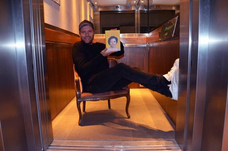Rune Bjerga er ute med ny bok. Hans fjerde, og beste, mener komikeren selv.
