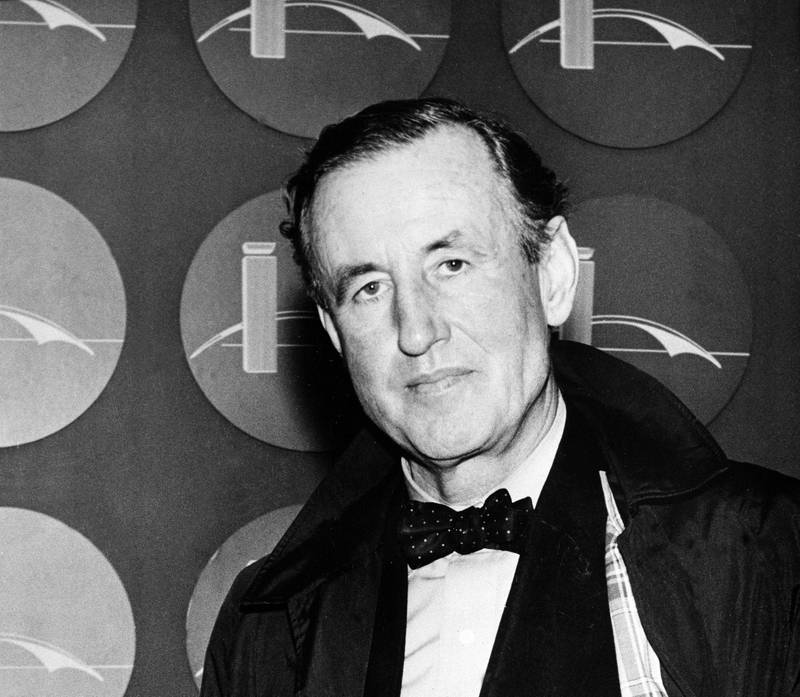 Ian Lancaster Fleming, british best-selling author and creator of a fiction character known as secret agent James Bond, is seen in this 1962 photo. (AP Photo)