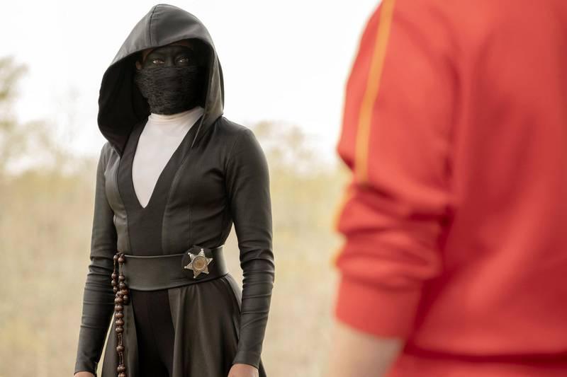 «Watchmen», en antiheltnoir om et alternativt USA anno 2019, og en serie som kan bli en moderne klassiker. FOTO: HBO NORDIC