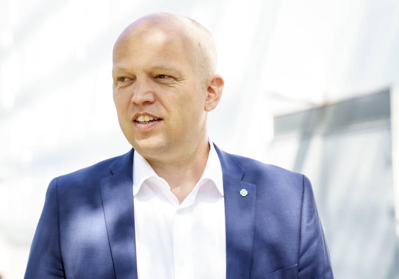 Senterparti-leder Trygve Slagsvold Vedum. Foto: Torstein Bøe / NTB