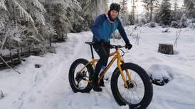 Jan Kristian syklet 11 timers lørdagstur i -20: – Noen mener jeg burde vært lagt inn på sykehus