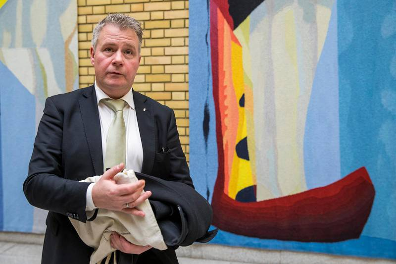 Oslo 20200128. Per Willy Amundsen (FrP) etter statsminister Erna Solberg sin redegjørelse på Stortinget.Foto: Terje Pedersen / NTB