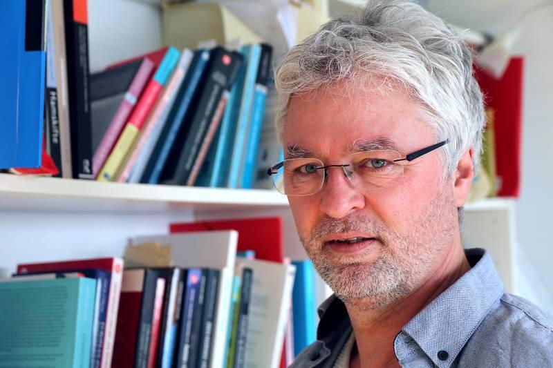 Valgforsker Svein Erik Tuastad ved Universitetet i Stavanger.