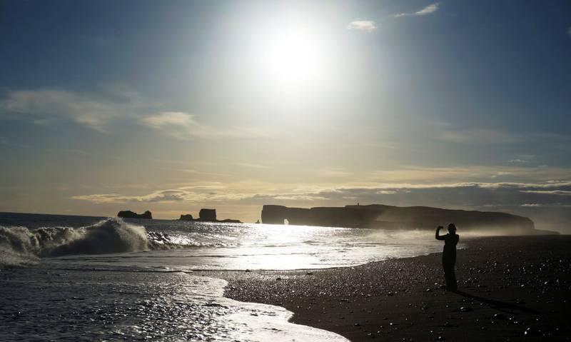 Reynis- fjara i Vík på Island er filmkulissevakker i seg selv. FOTO: CHRISTINE BAGLO
