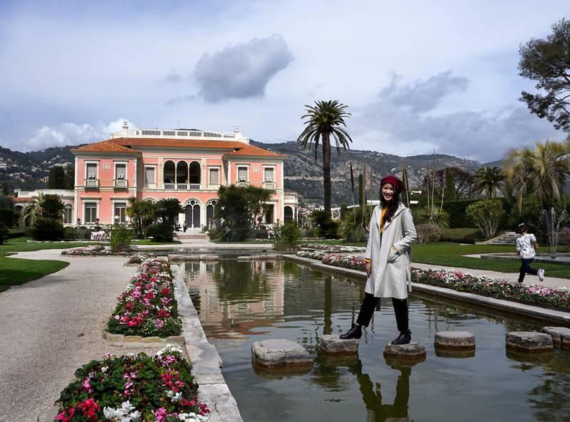 Den eksentriske baronessen Beatrice de Rothschild dedikerte store deler av livet sitt til å skape den eventyrlig vakre Villa Ephrussi de Rothschild. ALLE FOTO: CHRISTINE BAGLO