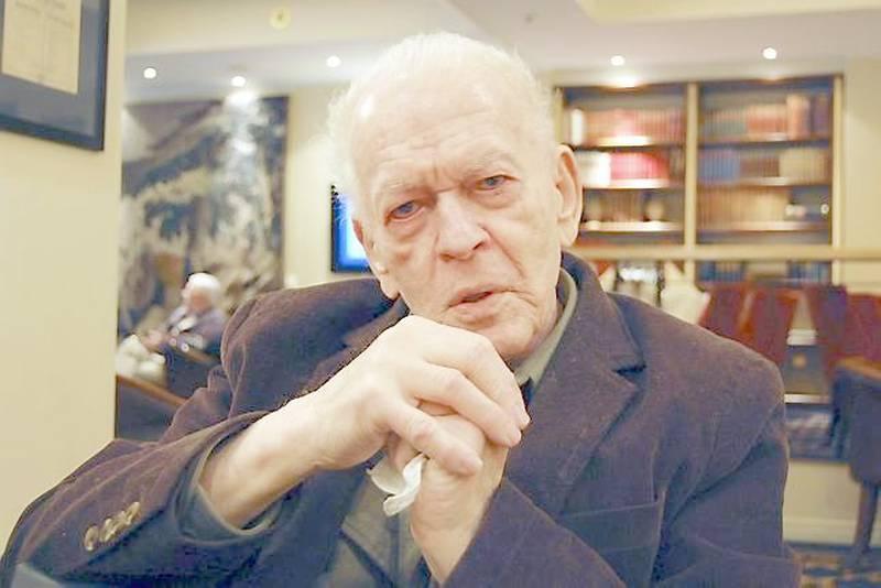 Gene Sharp har inspirert fredelige revolusjoner i en lang rekke land med sine konkrete metoder for ikkevoldelig motstand. Nå er han tilbake i Norge, hvor det hele begynte. FOTO: IVAR A. IVERSEN