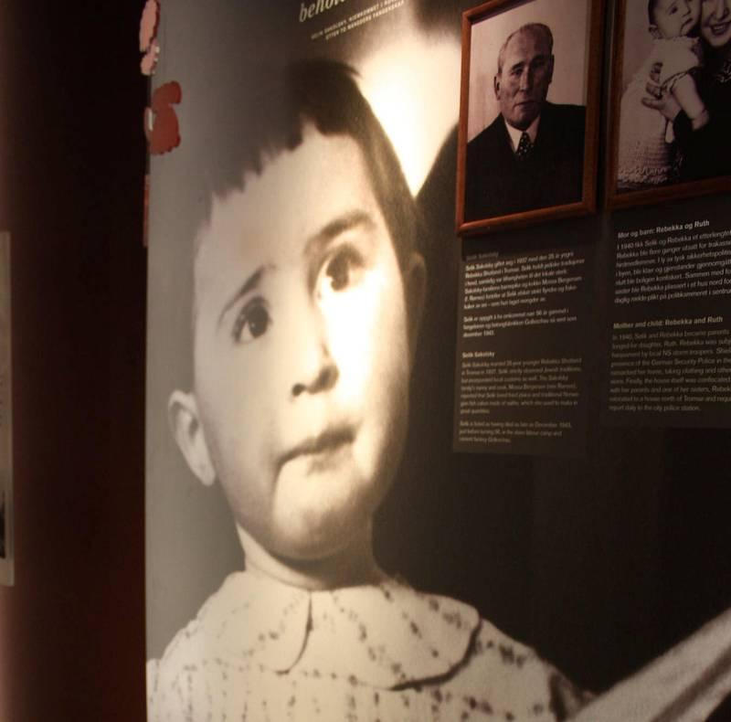Ruth Sakolsky fra Tromsø ble bare to år. Her er litt av Jødisk Museums utstilling om hennes korte i liv.