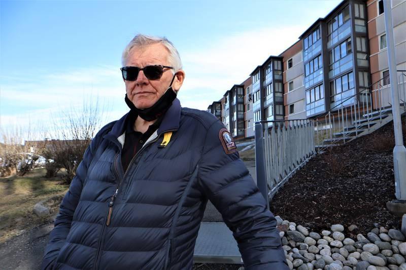 Tore Einar Hansen er styreleder i Fjellhagen borettslag på Fjell.