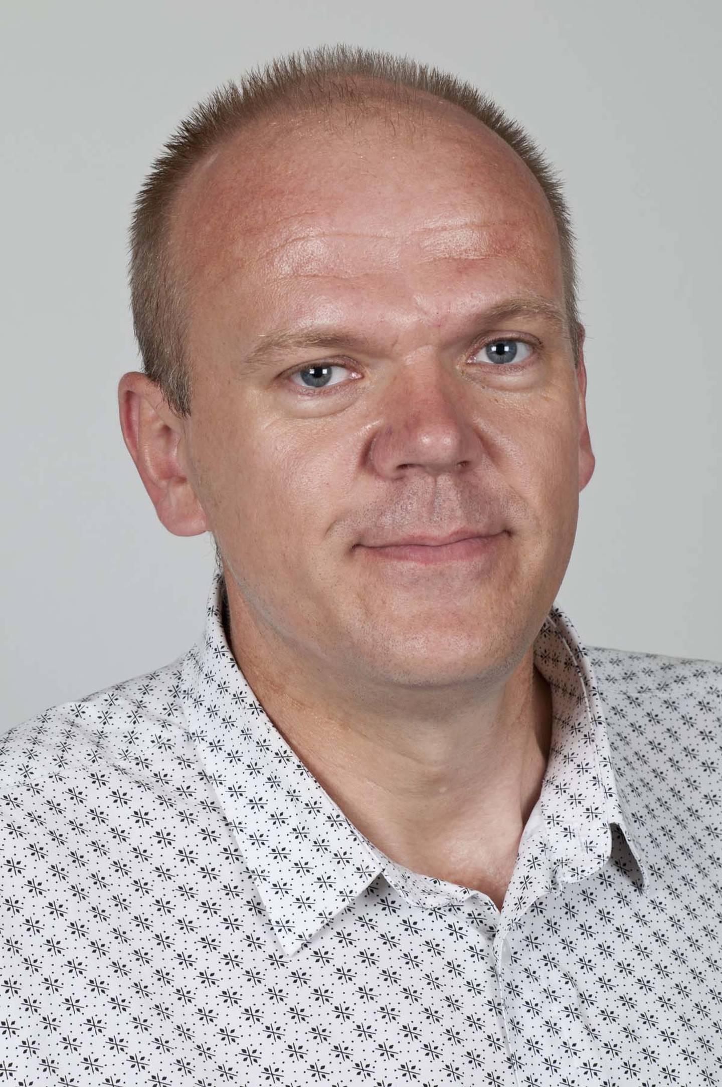 Førsteamanuensis ved Institutt for statsvitenskap, Jan Erling Klausen.