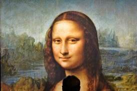 Det gamle portrettet beveger seg, blinker og smiler. Litt nifst, men enkelt med ny teknologi