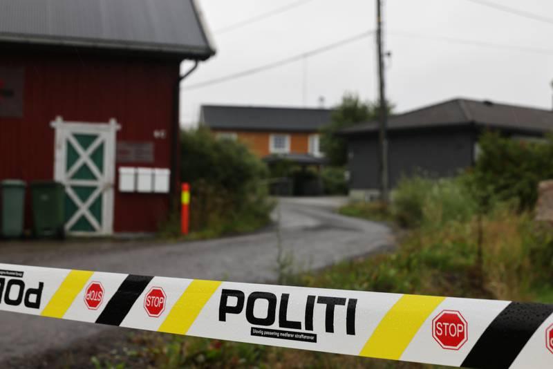 En litauisk mann i slutten av 50-årene ble natt til søndag funnet død i en bolig på Fjellhamar i Lørenskog. En polakk i 40-årene er politiets hovedmistenkte. Han samtykker til varetektsfengsling i fire uker. Foto: Geir Olsen / NTB