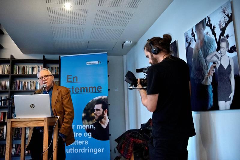Mannen i Krise: Leder i Mannsforum, Guttorm Grundt, lurte på den internasjonale mannsdagen om «hva skjedde (ikke) med statlige utredningers forslag til likestilling for menn og fedre?»
