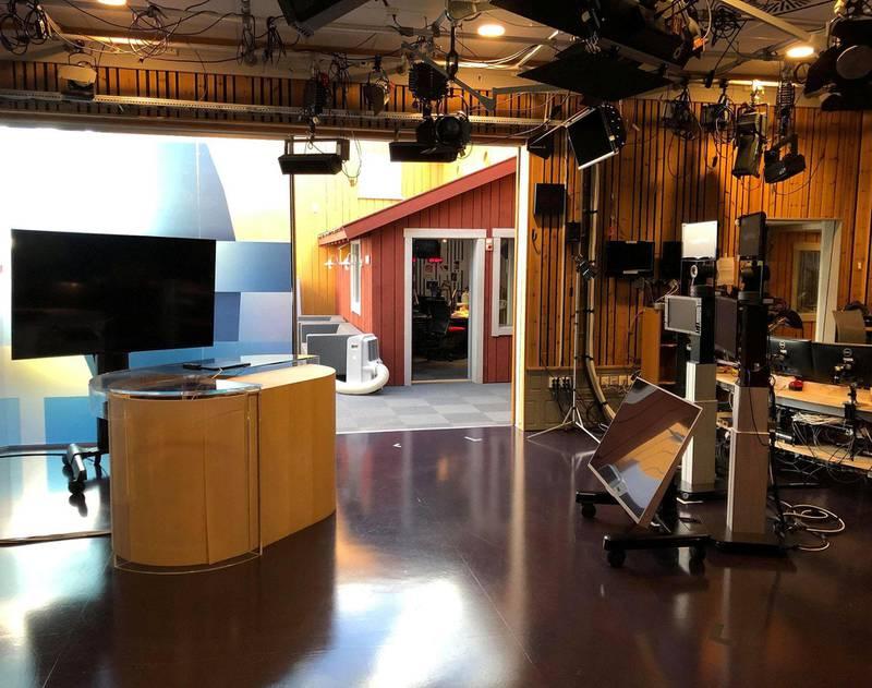 NRK Østfolds lokaler i Gamlebyen.FOTO: NRK