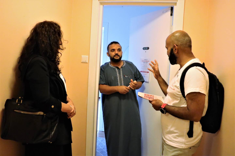 Fra venstre Hatice Luk, Ahmed R. Safi og Sajid Mukhtar.