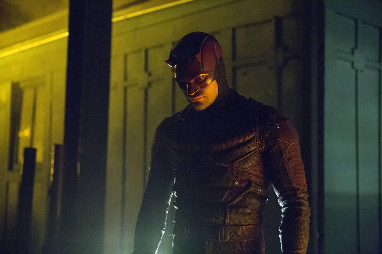 Charlie Cox i rollen som Marvel-helten Daredevil, i høydepunktet av seriene i superheltgenren på Netflix.