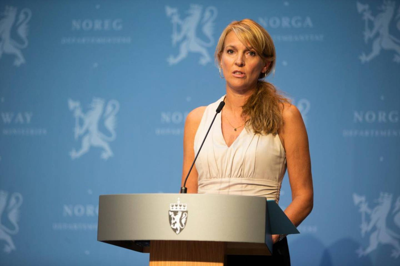 Avdelingsdirektør Line Vold fra Folkehelseinstituttet.