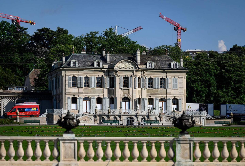 Villa La Grange i Genève i Sveits, der Biden og Putin skal møtes.