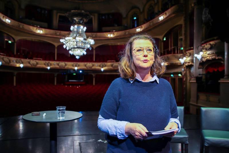 Nationaltheatrets sjef Hanne Tømta er spent på teaterjula. Foto: NTB