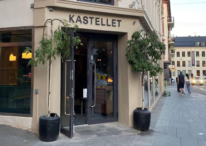 Restauranten Kastellet i Hegdehaugsveien.