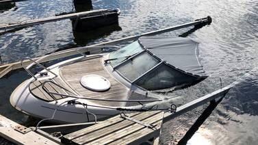 Færre, men dyrere skader under årets båtsesong