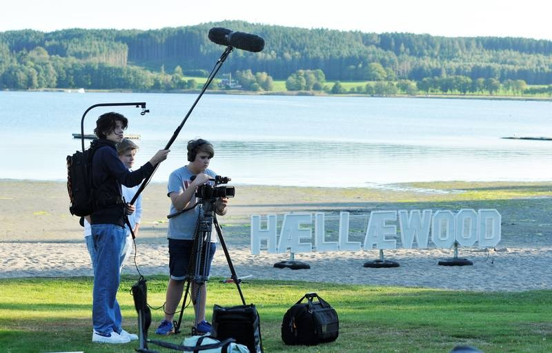 Innspilling av Lange flate ballær 3 i Revebukta