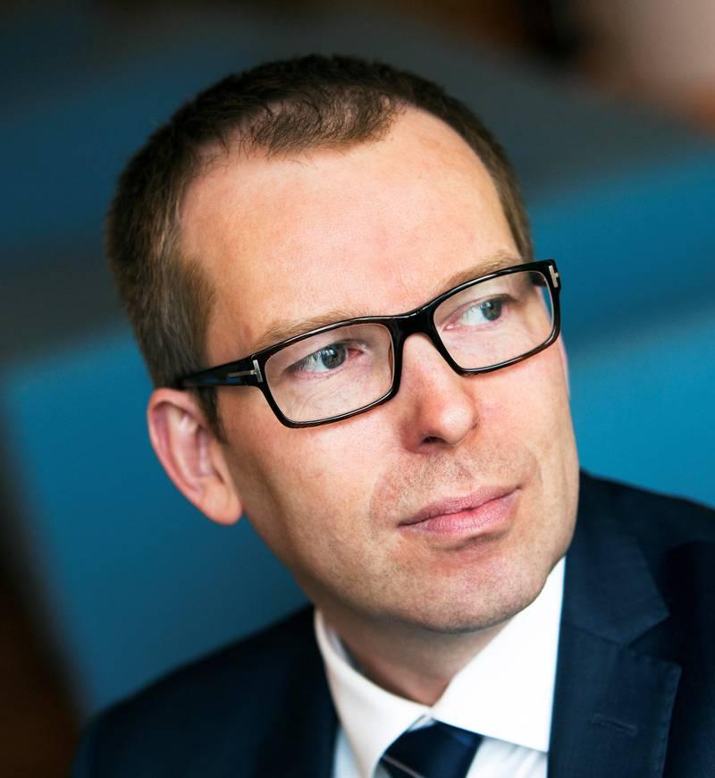 gRØNt ønske:  Abelia-leder Håkon Haugli.