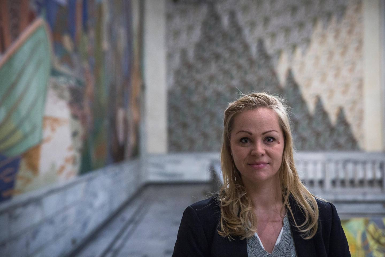 Eivor Evenrud er norsk barnehagelærer, blogger og politiker for Rødt Bystyremøte Rådhuset Budsjettforhandlinger