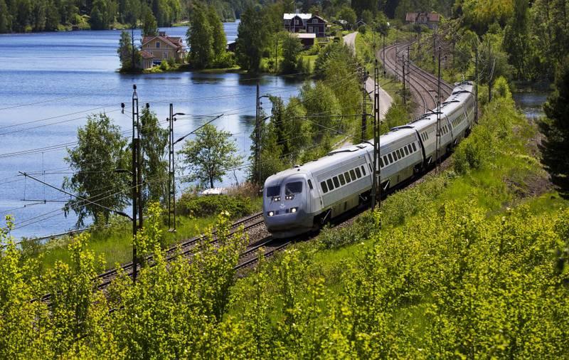 Slike hurtigtog blir å se på strekningen Stockholm-Oslo om drøyt to måneder.