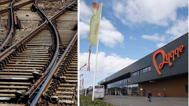 Med jernbanen og E6 tett på og integrert i flystasjonen, vil Rygge fremstå som et nasjonalt trafikknutepunkt av dimensjoner og samtidig avlaste Oslo-området.