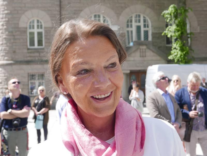 Stortingsrepresentant Ingjerd Schou (H) i Fredrikstad