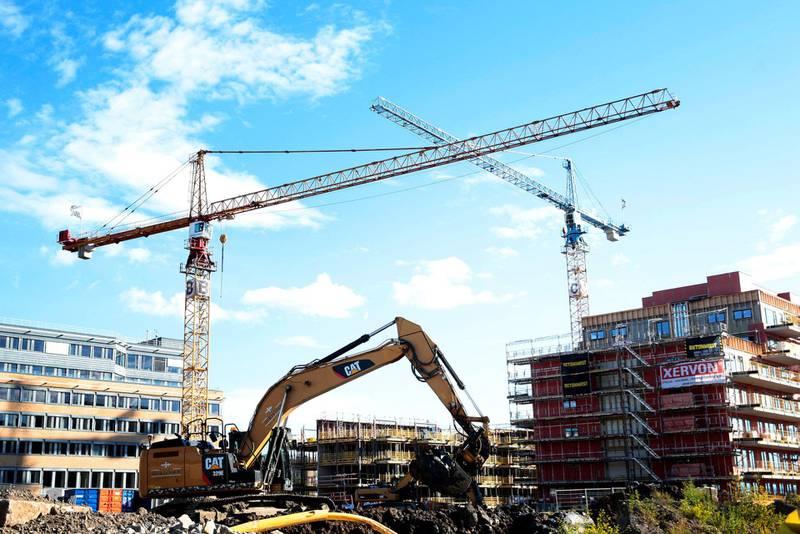 FORTETTING: Hvis bystyret følger ønskene fra befolkningen i Oslos bydeler, vil man kunne   oppnå en bærekraftig fortetting, uten konflikter som er ødeleggende, skriver Audun Engh. FOTO: HÅKON MOSVOLD LARSEN/NTB SCANPIX